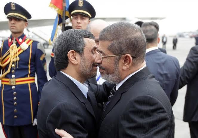 احمدی نژاد و مرسی