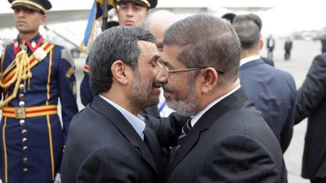 أحمدي نجاد ومرسي