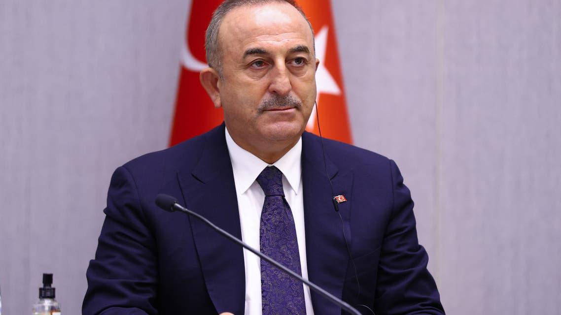وزير الخارجية التركي مولود جاويش أوغلو  (فرانس برس)