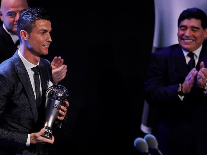 رکورد اینستاگرامی رونالدو در سال 2020؛  پست ادای احترام به مارادونا با 19 میلیون لایک
