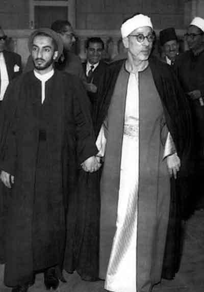 زيارة نواب صفوي إلى مصر عام 1954م