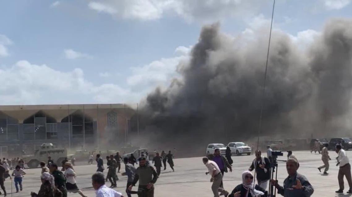 من تفجير مطار عدن 30 ديسمبر 2020