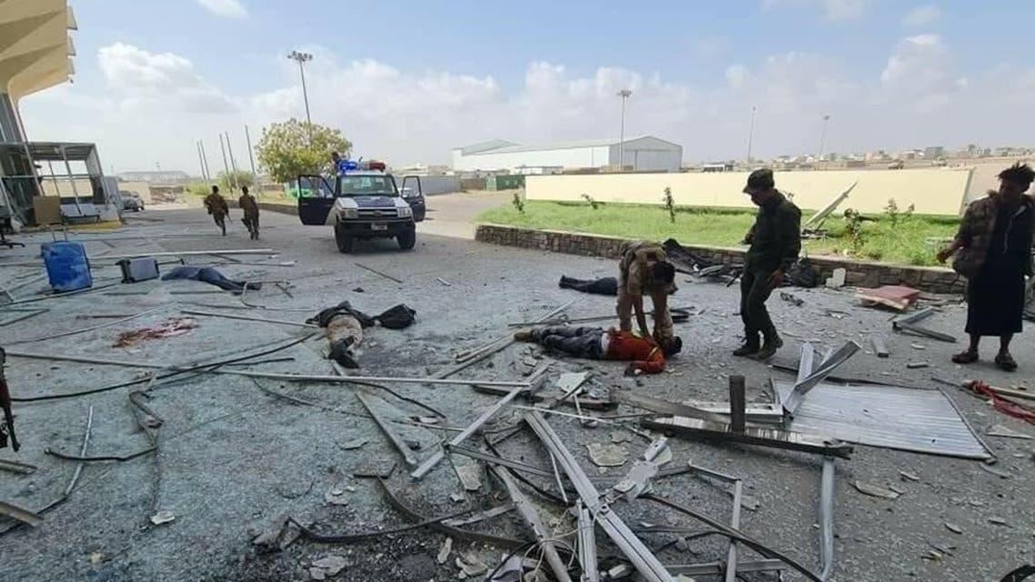 عدد من الجرحى في عدن