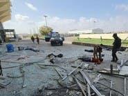 دماء وتكسير.. فيديو لمكان انفجار عدن بعد الحادث