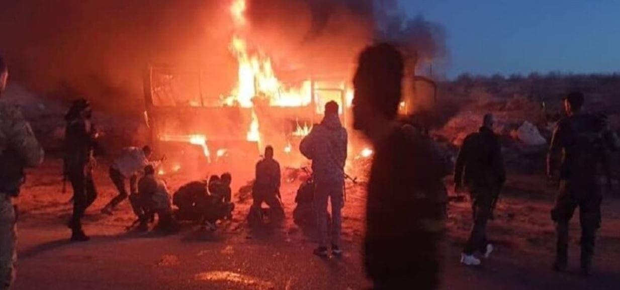 هجوم لداعش في دير الزور