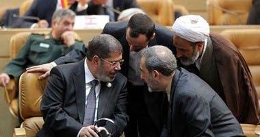 زيارة مرسى لطهران عام 2012 للمشاركة في قمة عدم الانحياز