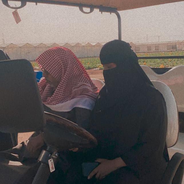 شابة سعودية تدير مزرعة للبيوت المحمية.. هذه قصتها