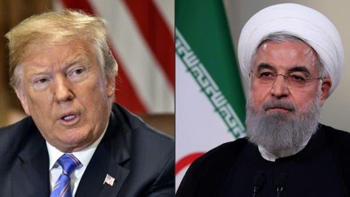 Iranian President and US President Trump