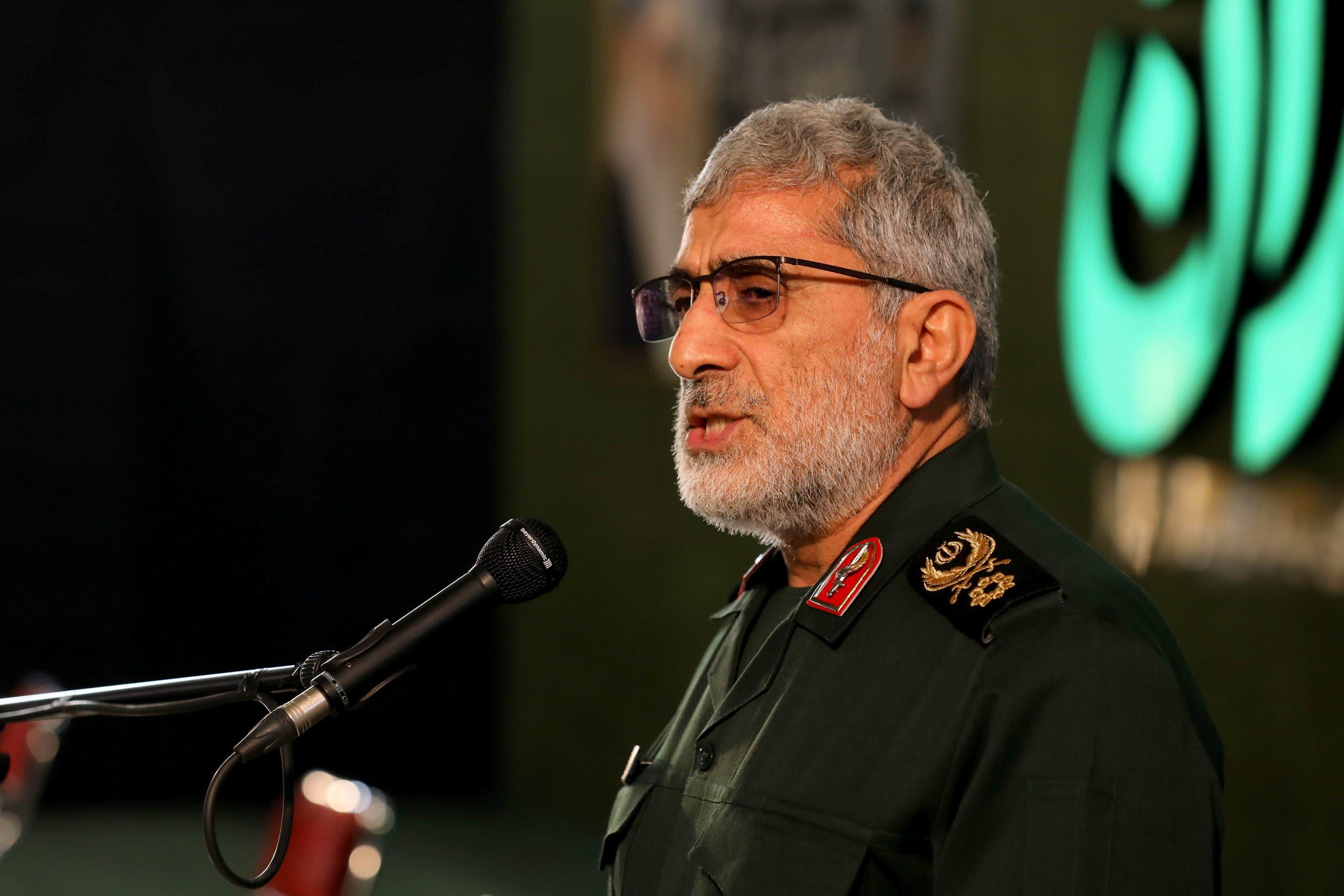 قائد فيلق القدس اسماعيل قاآني