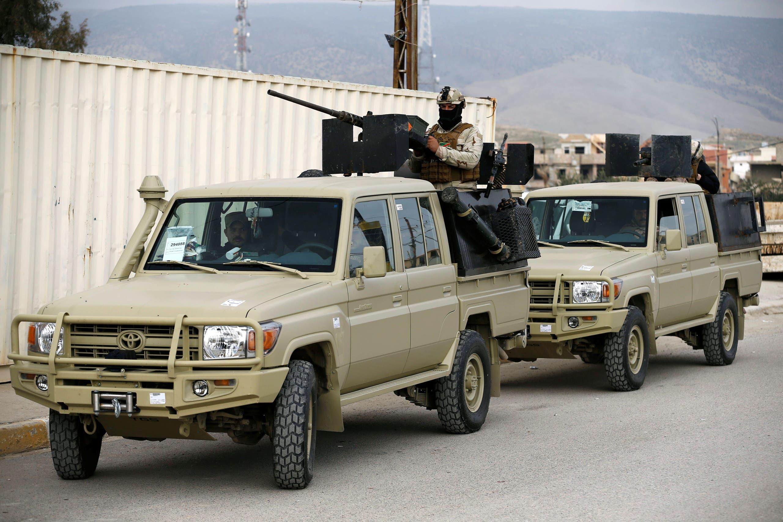 عناصر من قوات الأمن العراقية