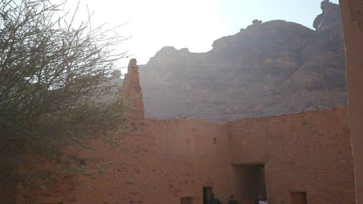 مشاهد رائعة من منطقة العلا السعودية مفترق طرق الحضارات
