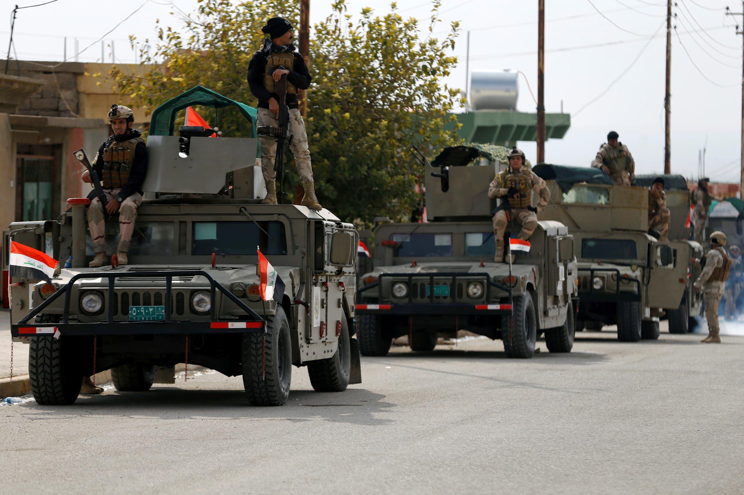 اعضای نیروهای امنیتی عراق