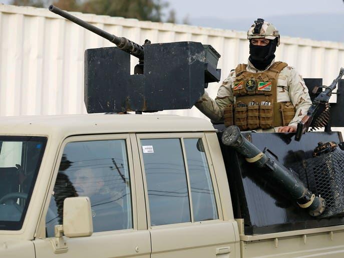 کاروان نظامی ائتلاف بینالمللی در عراق هدف بمب کنار جادهای قرار گرفت
