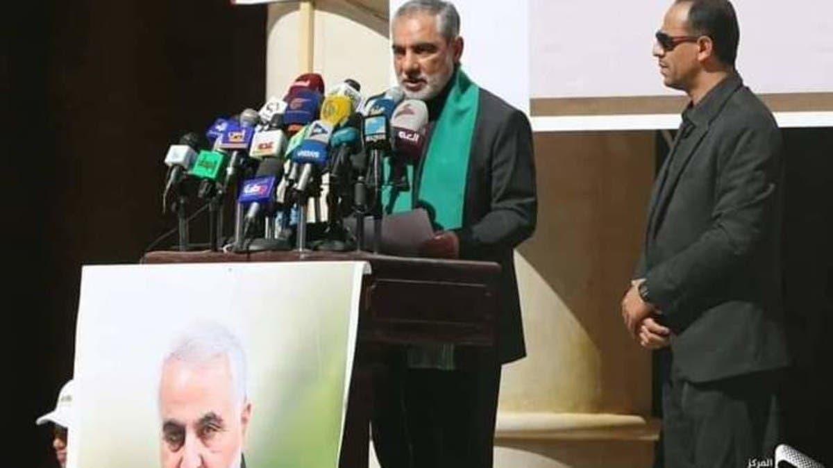 """صنعاء.. """"الحوثي"""" تحيي ذكرى """"سليماني"""" وإيرلو يجدد التزام إيران بدعمهم"""