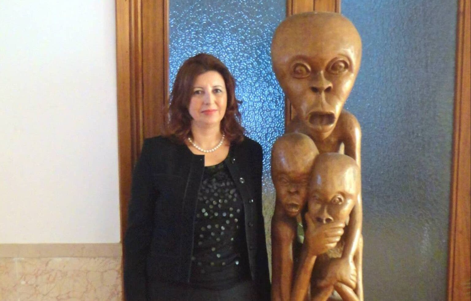 السفيرة التركية أيلين تاشان