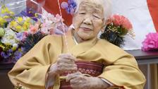 دنیا کی معمر ترین خاتون کی 118 ویں سالگرہ
