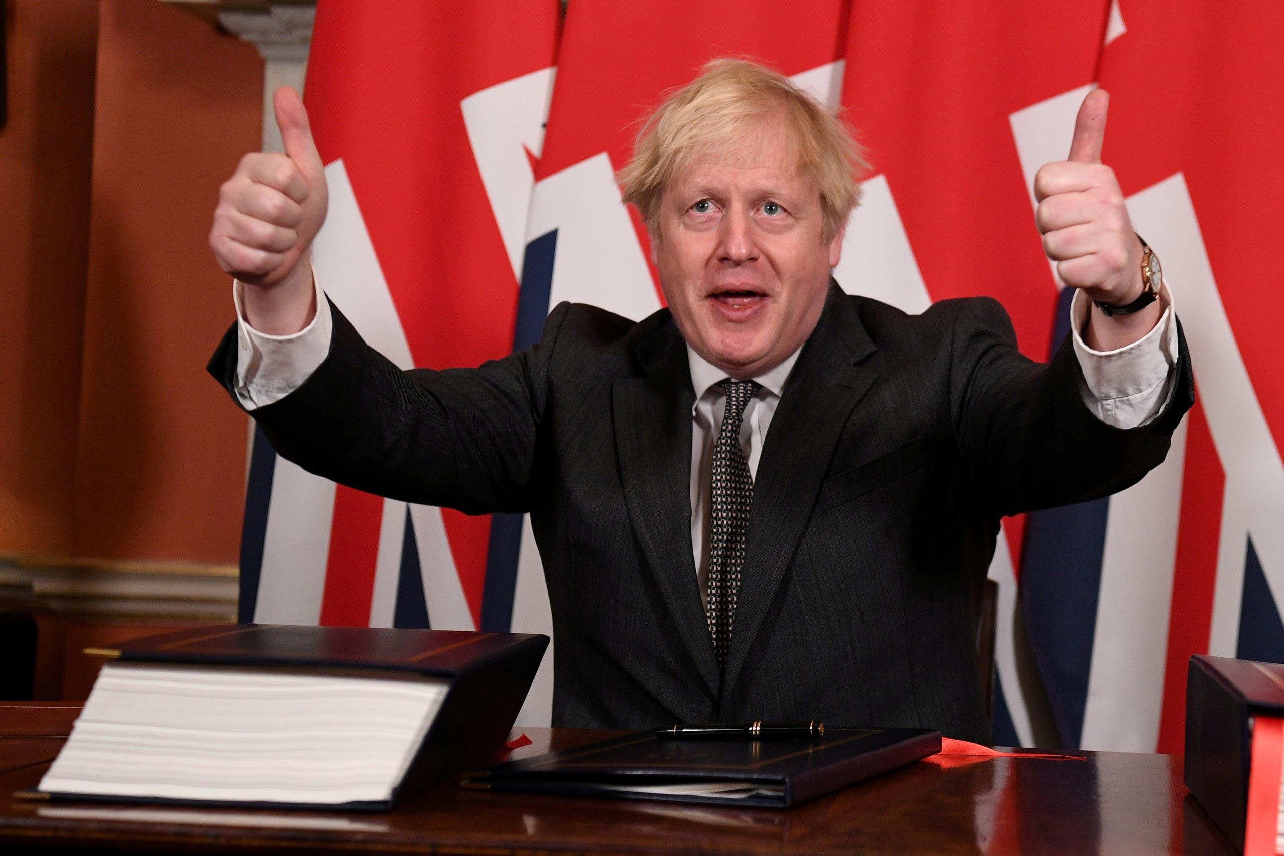 نخست وزیر انگلیس بوریس جانسون (رویترز)