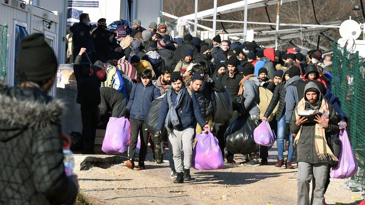 EU announces additional aid but urges Bosnia to rebuild migrant camp thumbnail