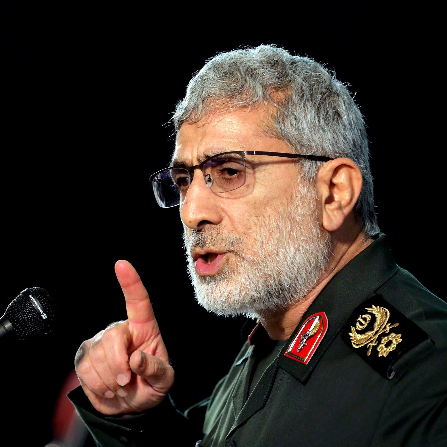 رويترز: قآأني يتابع نتائج انتخابات العراق.. وميليشيات إيران تهدد بحرق المباني