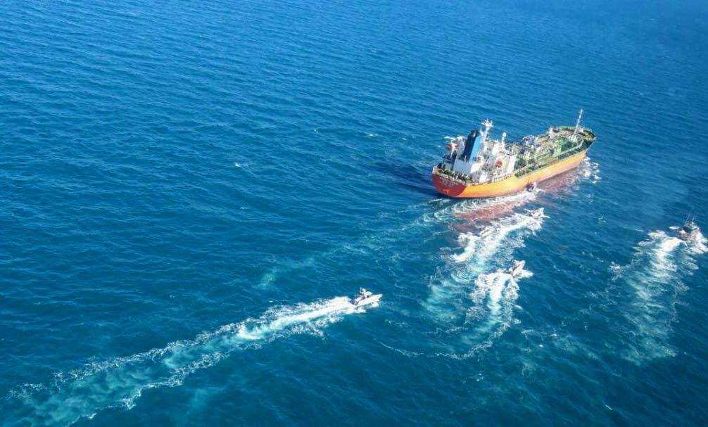 کشتی کره جنوبی توسط سپاه پاسداران ایران (AFP) بازداشت شد