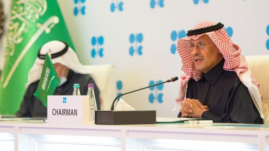 وزير الطاقة السعودي الأمير عبدالعزيز بن سلمان يرأس اجتماع أوبك