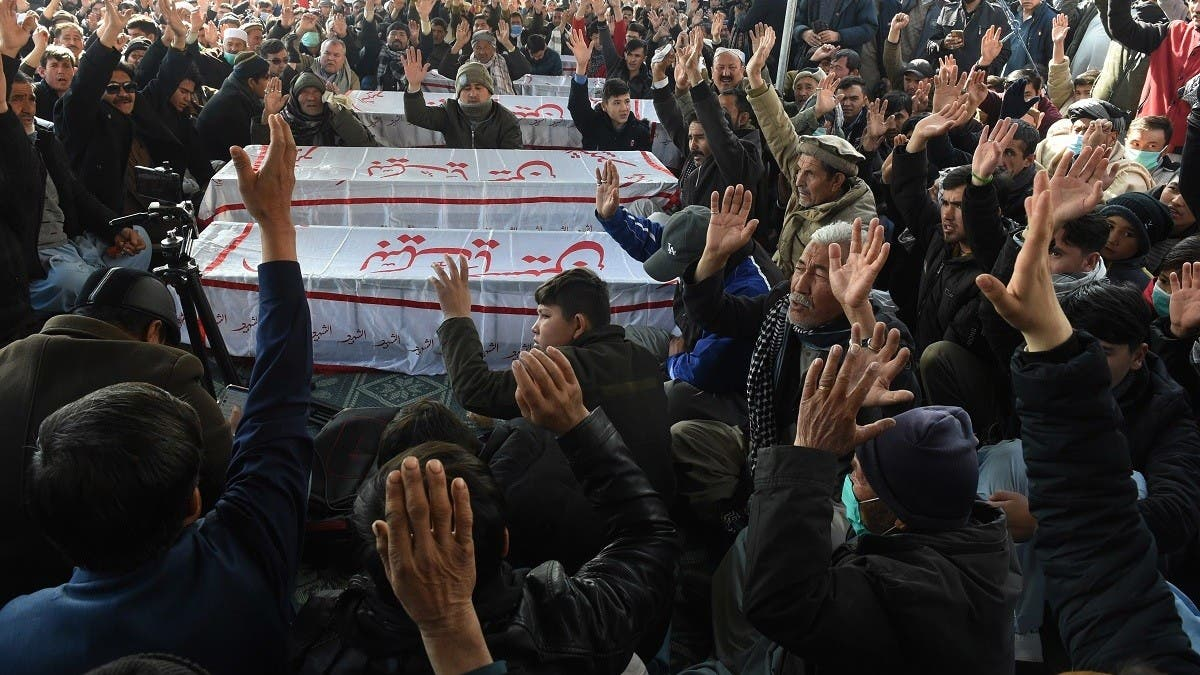 Thousands of Pakistani Shia mourn miners killed in attack claimed by ISIS thumbnail