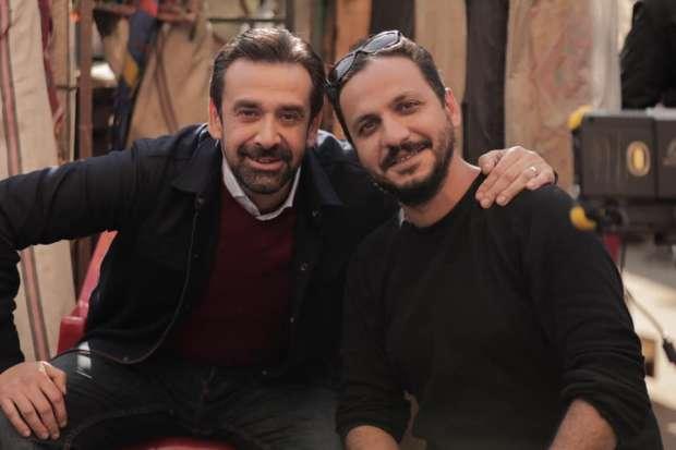المخرج بيتر ميمي والنجم كريم عبدالعزيز بطل الاختيار 2