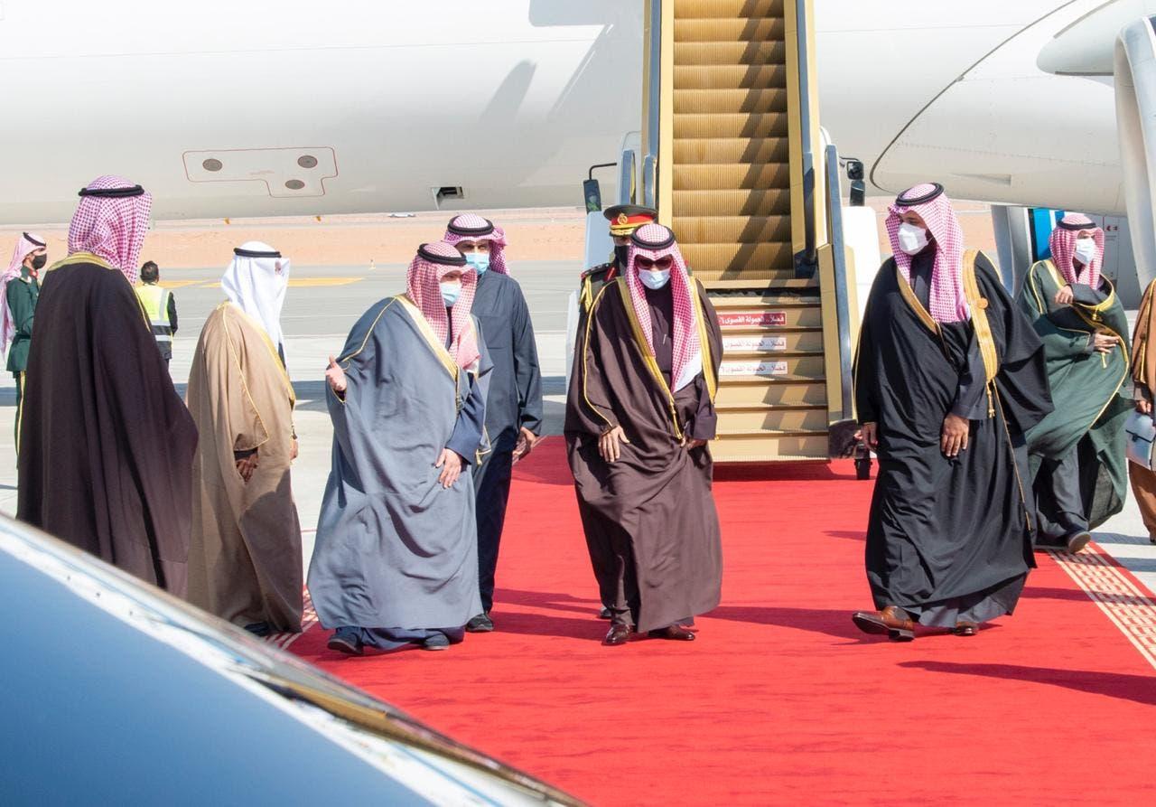 وصول سمو أمير دولة الكويت