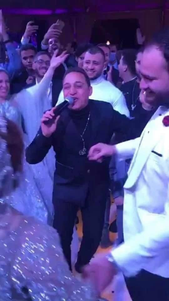 من حفل الزفاف