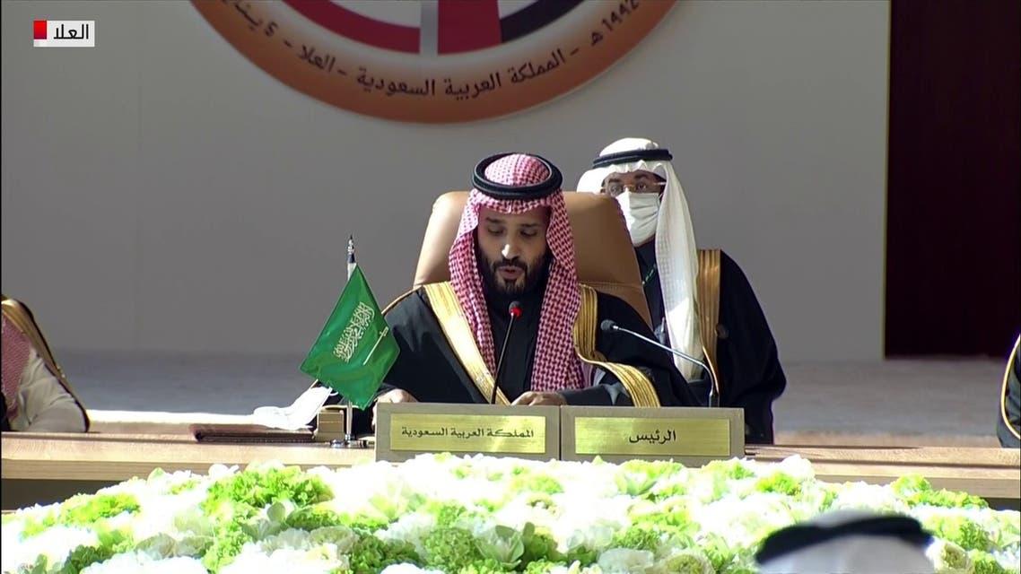 ولي العهد السعودي يترأس القمة الخليجية في العلا