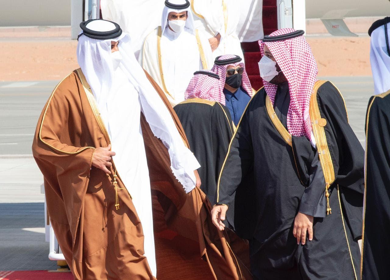 وصول سمو أمير دولة قطر