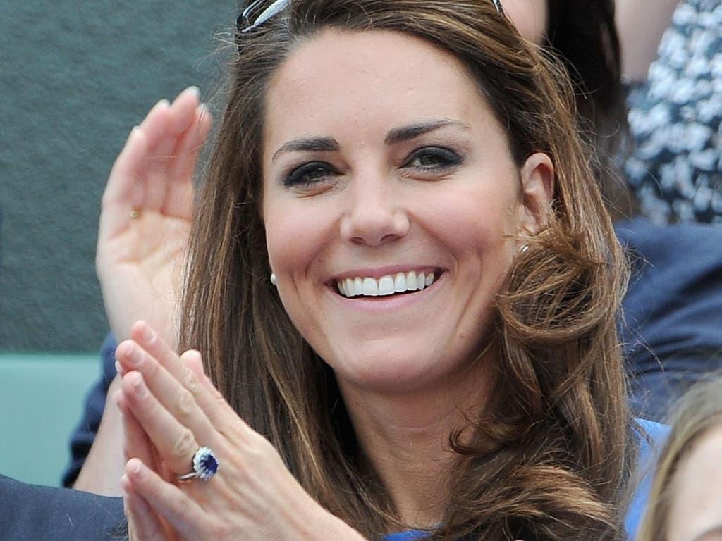 خاتم زفاف كايت ورثته عن الأميرة ديانا