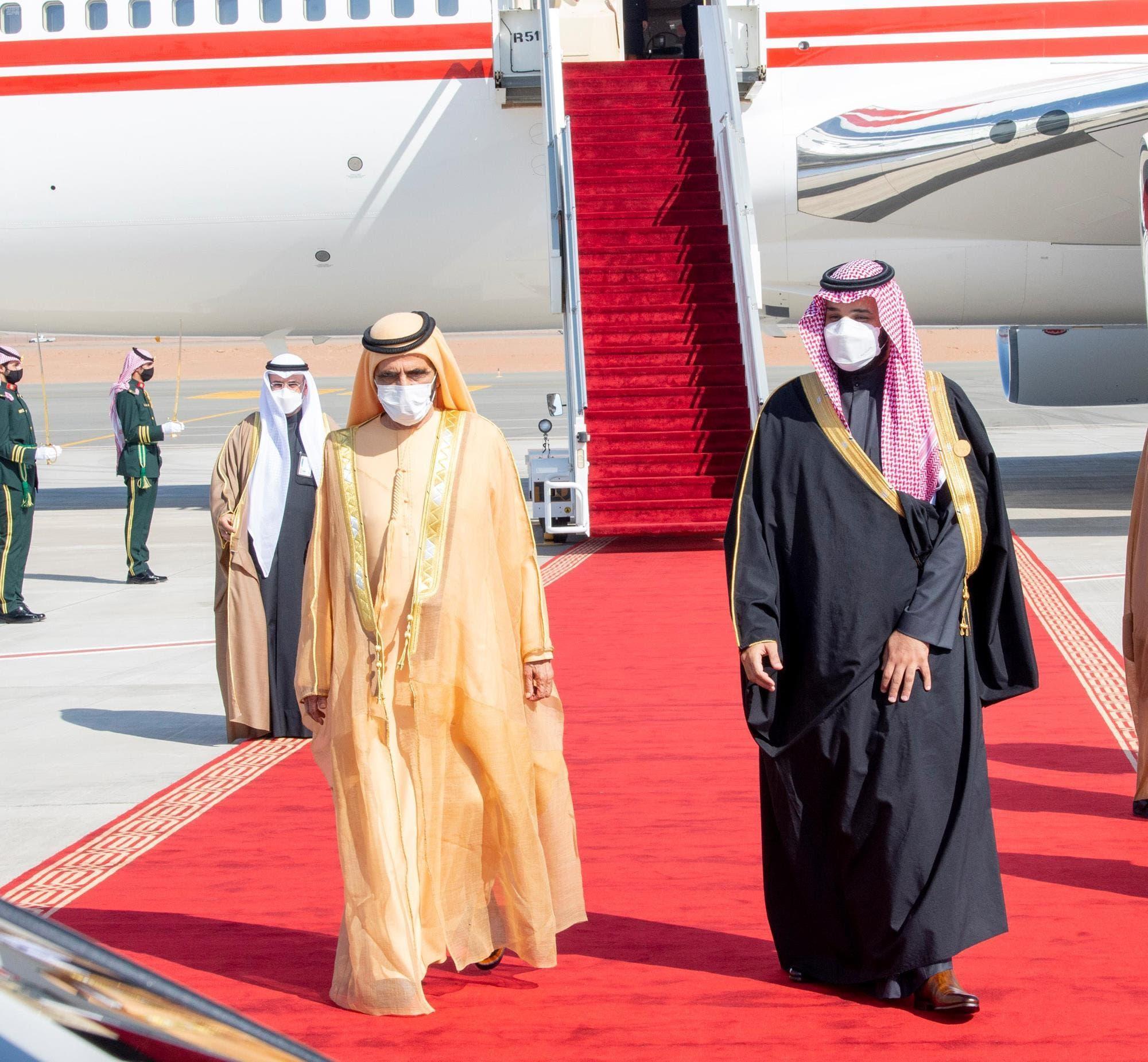 وصول نائب رئيس الإمارات رئيس مجلس الوزراء حاكم دبي