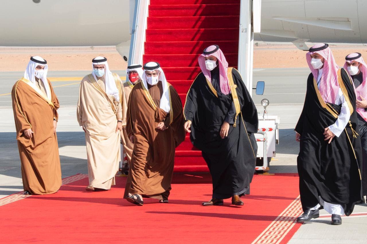وصول ولي عهد مملكة البحرين