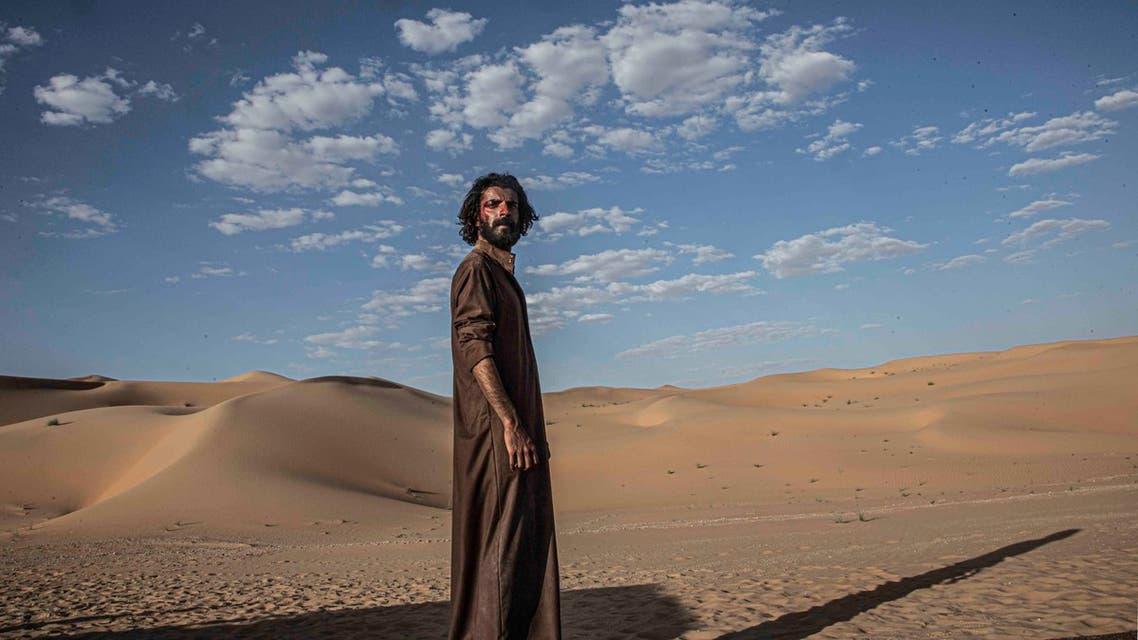 Saudi actor Yagoub al-Farhan as Rashash. (Supplied)