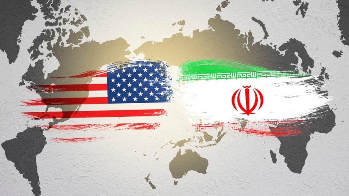 إيران أميركا طهران واشنطن أعلام