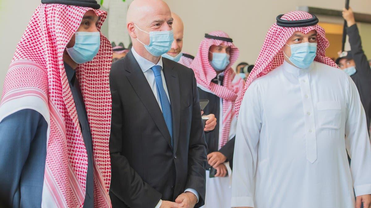 إنفانتينو: الاتحاد السعودي يتمتع باحترافية عالية