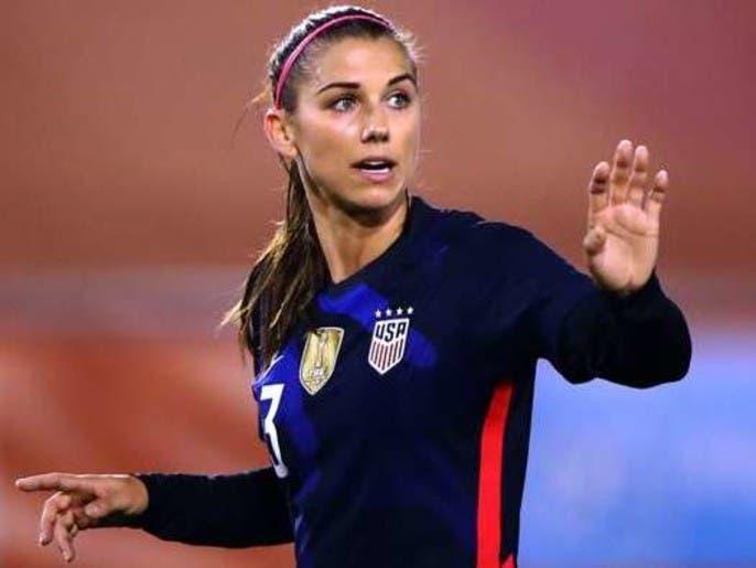 مورگان بازیکن تیم ملی زنان آمریکا به کرونا مبتلا شد