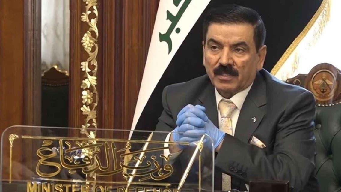 جمعه عناد وزیر دفاع عراق