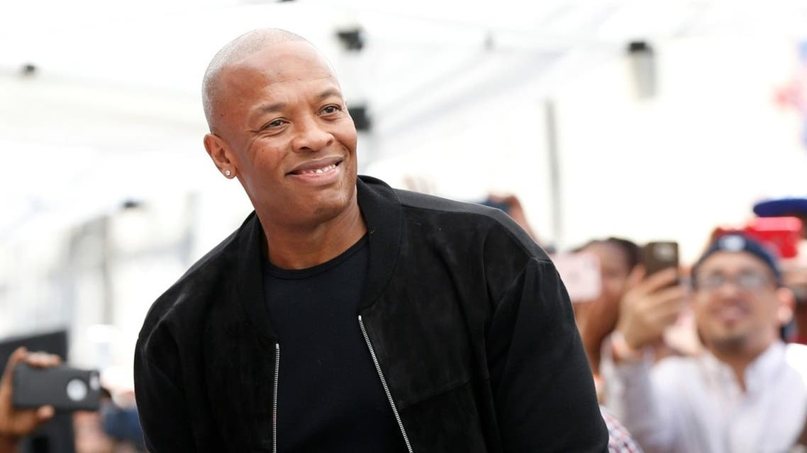 File photo of US rapper and music producer Dr. Dre. (Reuters)
