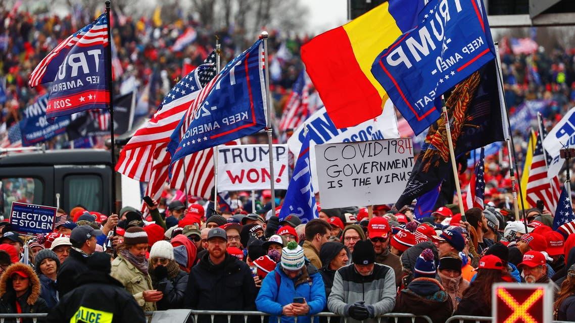 من تظاهرات واشنطن