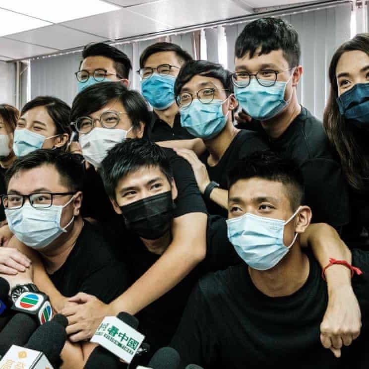 حملة توقيفات في هونغ كونغ تطال محاميا أميركيا