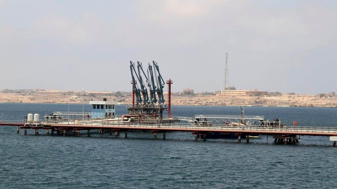 A general view of Libya's Hariga port in Tobruk, east of Benghazi. (Reuters)
