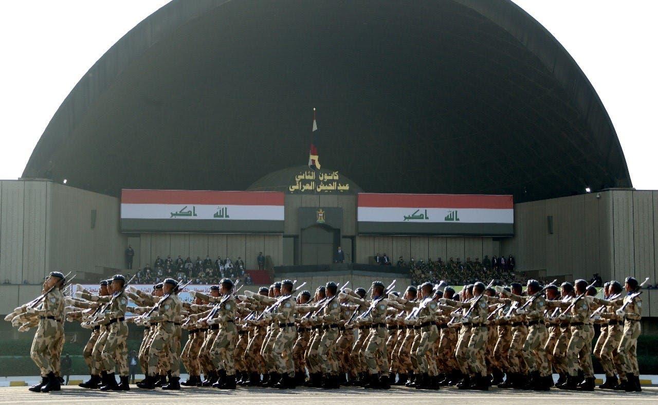 من استعراض الجيش العراقي