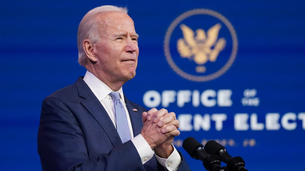 """Biden urges Trump to """"step up"""" and demand supporters end """"siege"""" on Capitol thumbnail"""