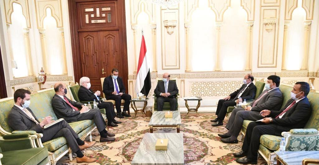 رئیس جمهور یمن در دیدار خود با نماینده سازمان ملل
