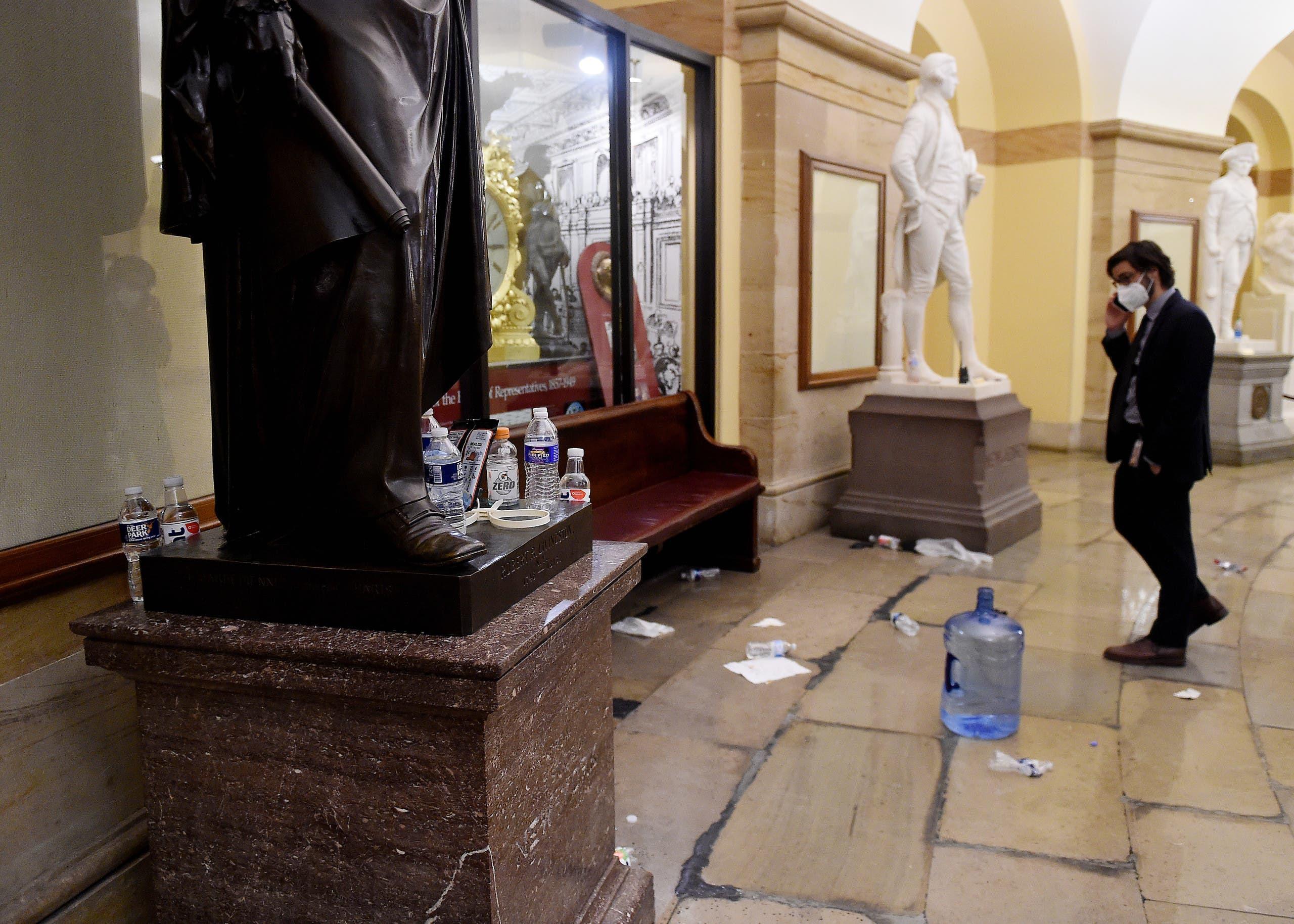 أعمال تكسير في الكونغرس (أرشيفية- فرانس برس)