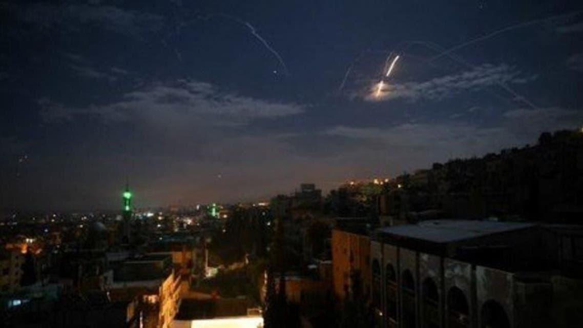 Israeli attack on syrian territory