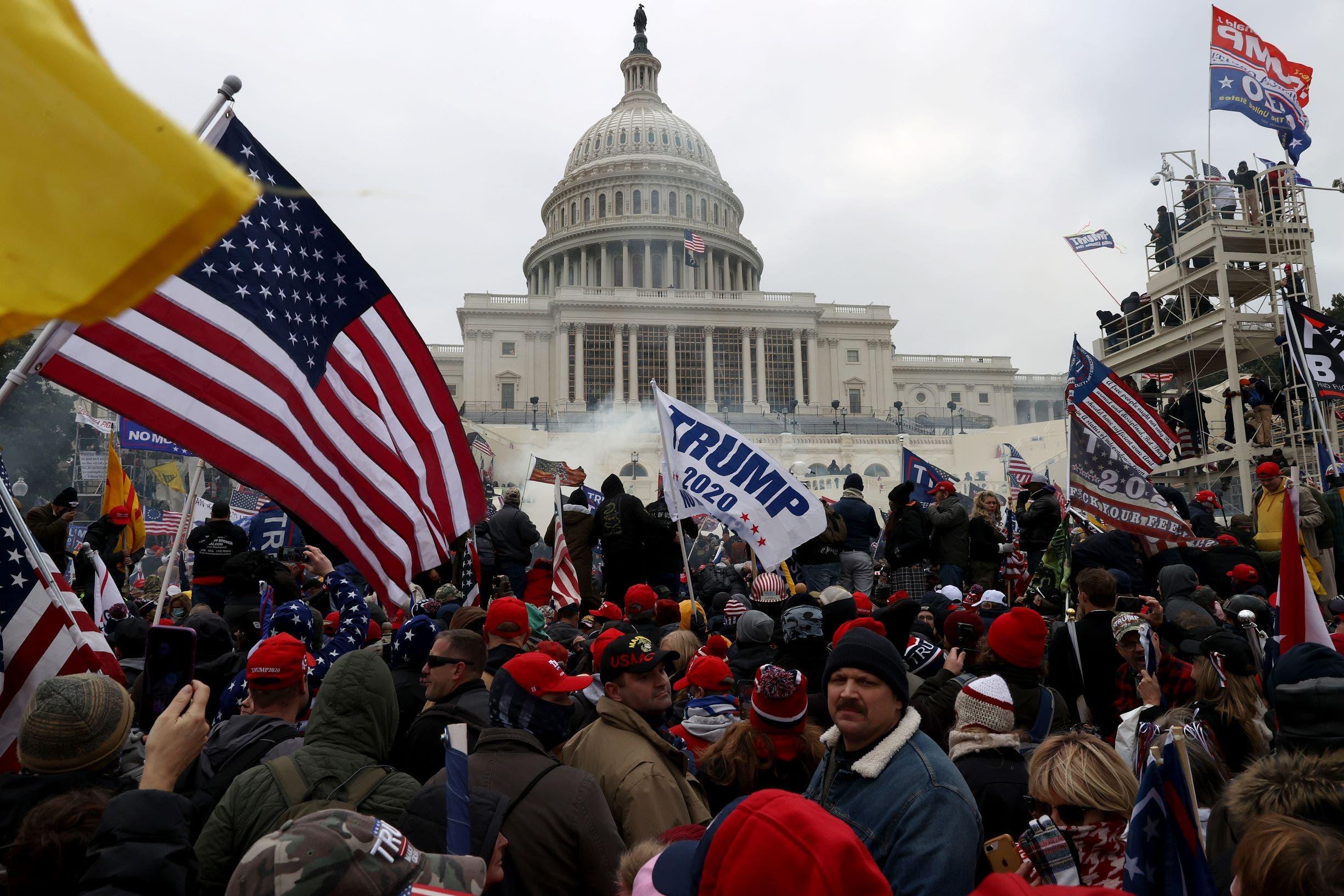 أنصار ترمب يقتحمون مبنى الكونغرس
