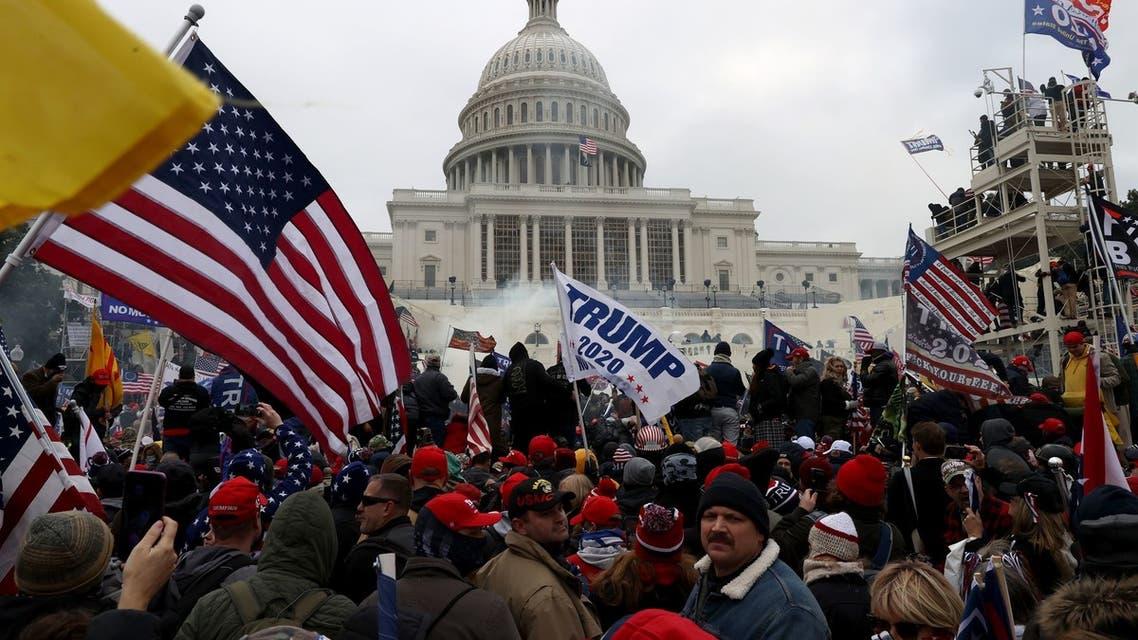 أنصار ترمب تقتحم مبنى الكونغرس